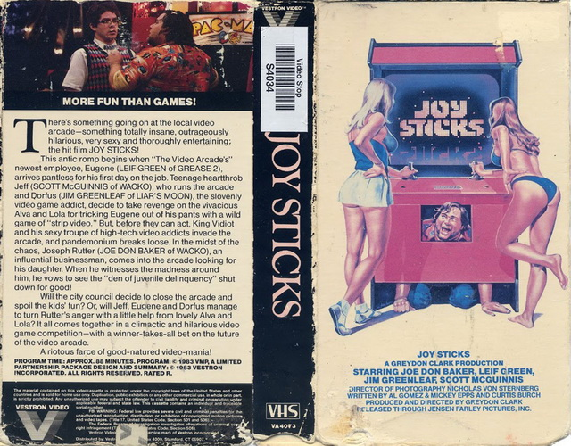 Joysticks 1983 English - More fun than games!